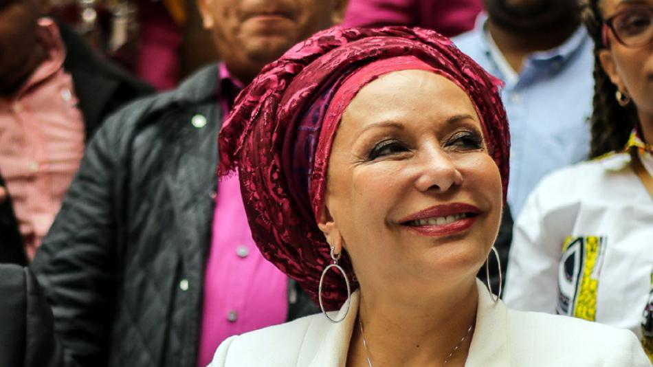 Piedad Córdoba retiró su candidatura y denunció discriminación