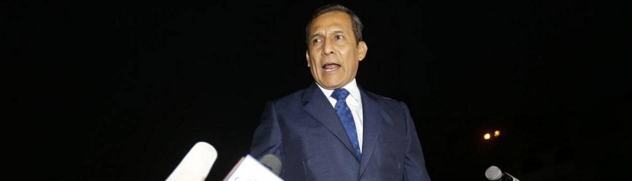 Expresidente Humala y su esposa salieron de la cárcel