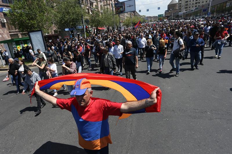 Armenia elegirá nuevo primer ministro el próximo 1 de mayo
