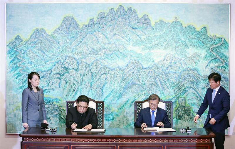 ¡Día histórico! Corea Del Norte y del Sur sellaron pacto para una península libre de armas nucleares