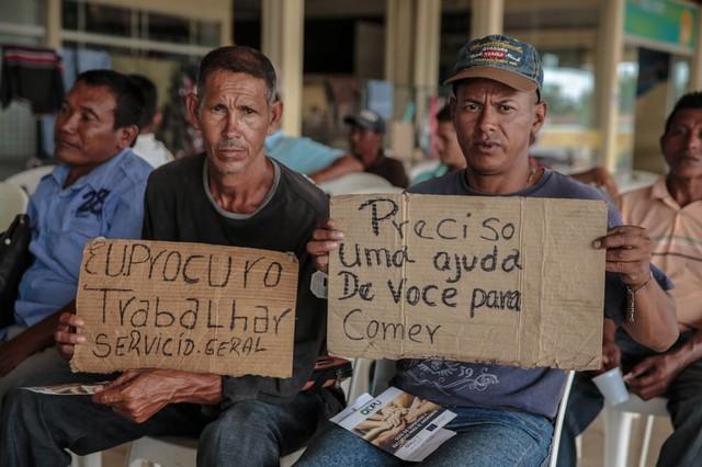 Más de la mitad de los inmigrantes venezolanos que ingresaron a Brasil no tienen  empleo