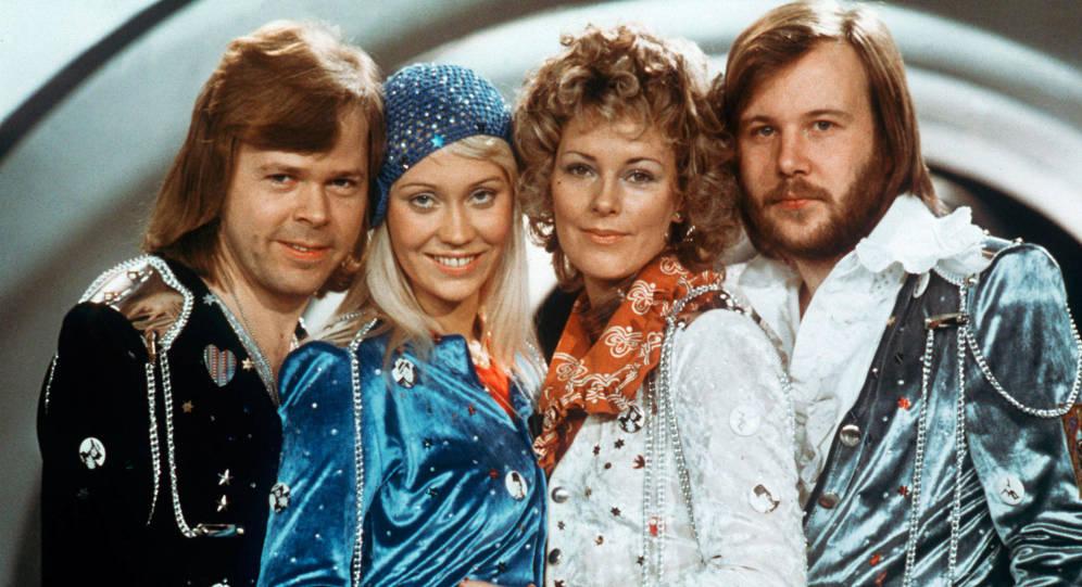 ABBA se reencuentra en el estudio de grabación