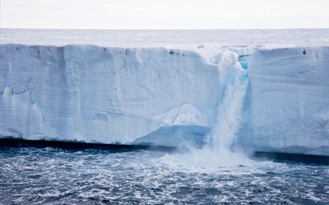 La Antártica perdió un área de hielo submarino del tamaño de la isla Gran Canaria