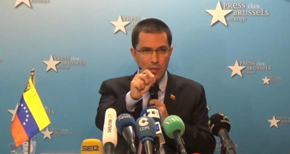 Venezuela entregó carta a España para normalizar relaciones diplomáticas