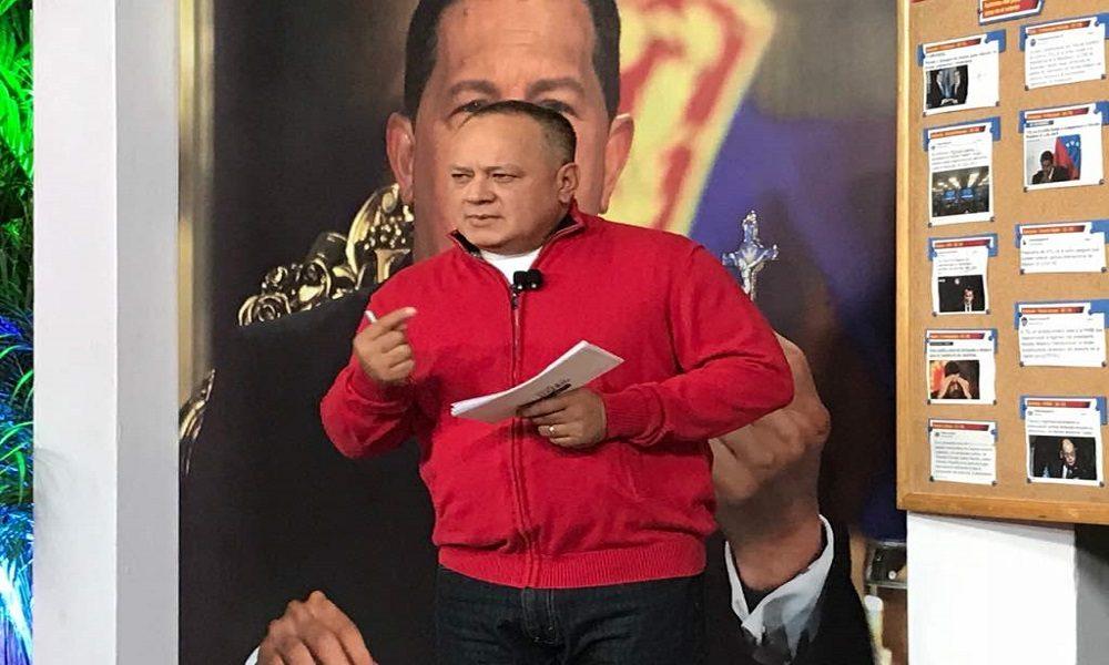 Diosdado Cabello reta a Suiza a presentar pruebas en su contra