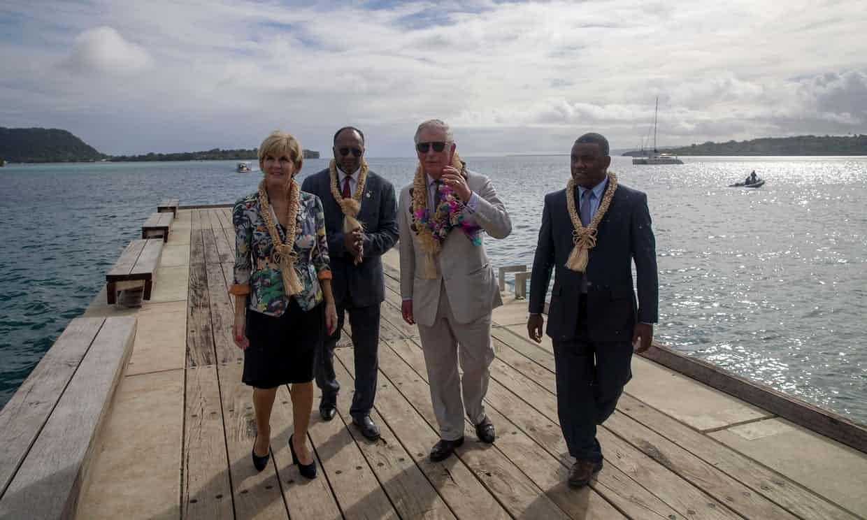 China pone sus ojos en Vanuatu para construir una base militar