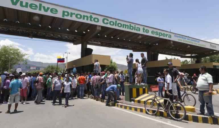 Colombia inicia registro de migrantes venezolanos