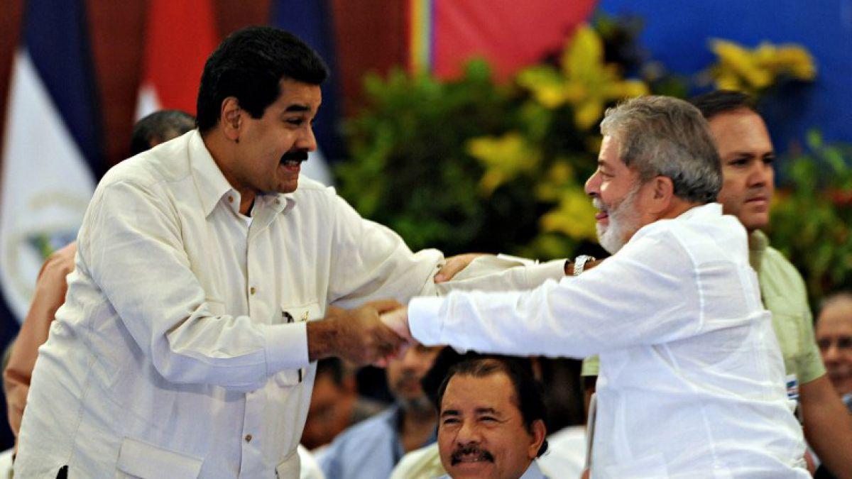Maduro acusa a la derecha brasileña de utilizar la justicia para agredir al pueblo