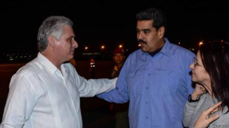 Nicolás Maduro es recibido por presidente Díaz-Canel en La Habana