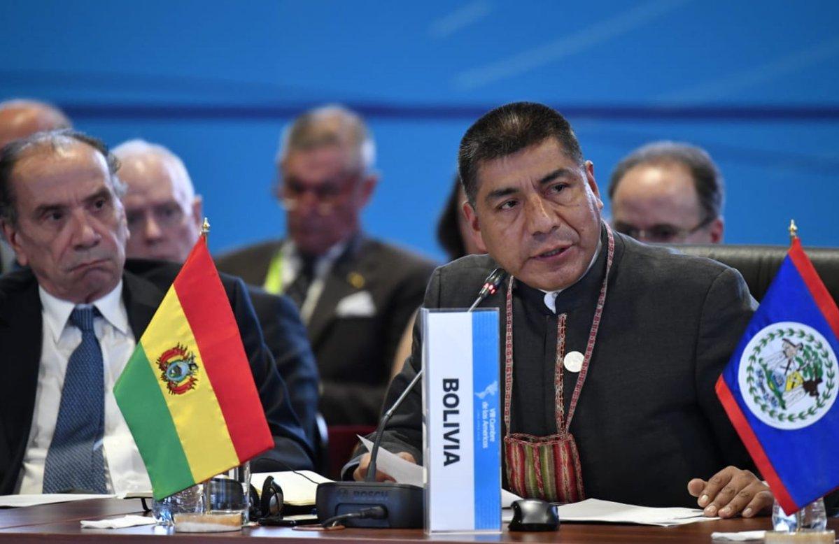 Bolivia recibió la Presidencia Pro Témpore de Unasur en víspera de la VIII Cumbre de las Américas
