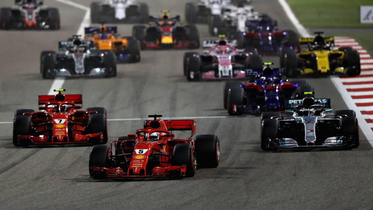Sebastian Vettel Campeón en el Gran Premio de Bahréin en F1