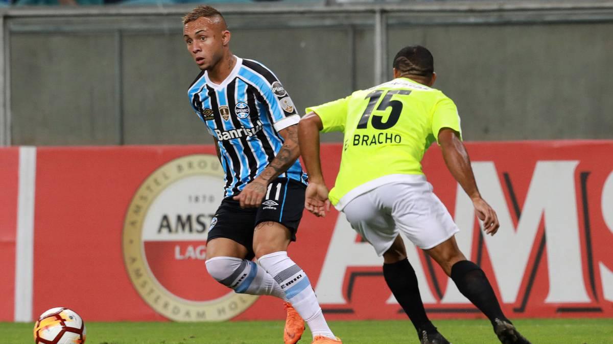 Gremio de Porto Alegre le propinó una goleada de escándalo al Monagas SC de Venezuela