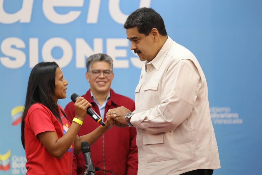 Gobierno de Venezuela incorporó familia 4 millones al sistema de protección Hogares de la Patria