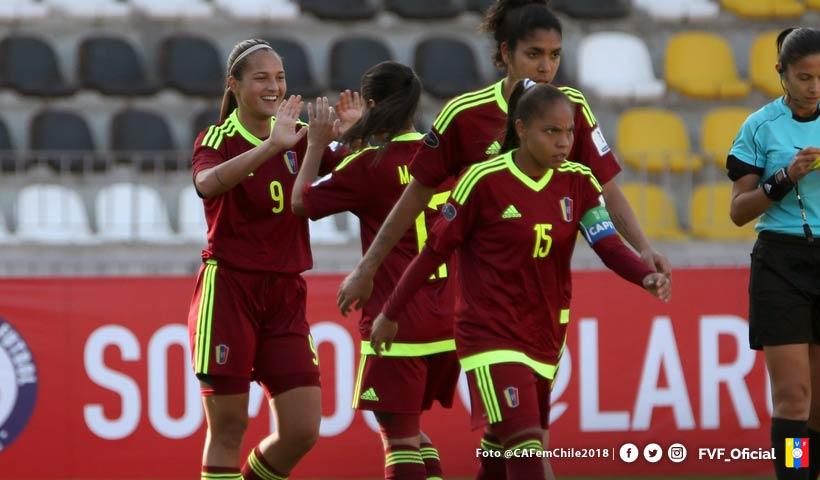 La Vinotinto Femenina derrotó 8-0 a Bolivia, con 4 goles de Deyna Castellanos (Video)