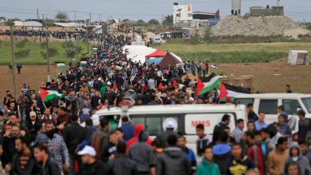 """ONU pide a Israel máxima moderación durante la """"Gran Marcha del Retorno"""""""