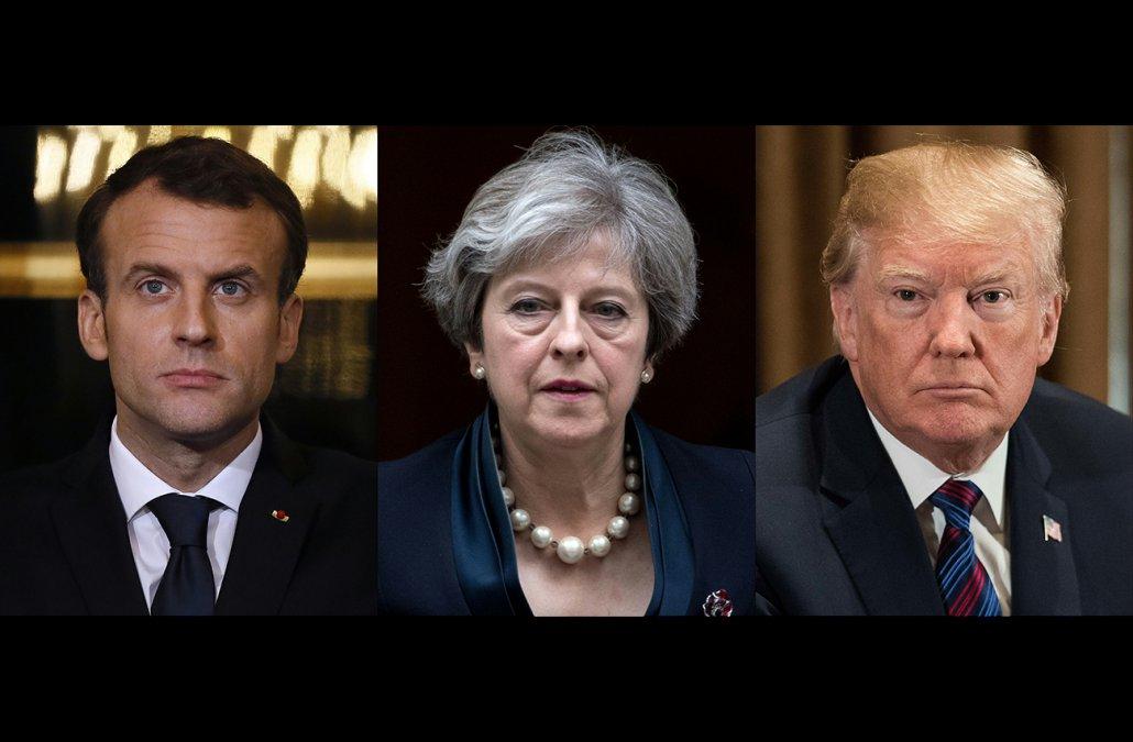 Los tres amigotes del bullying internacional