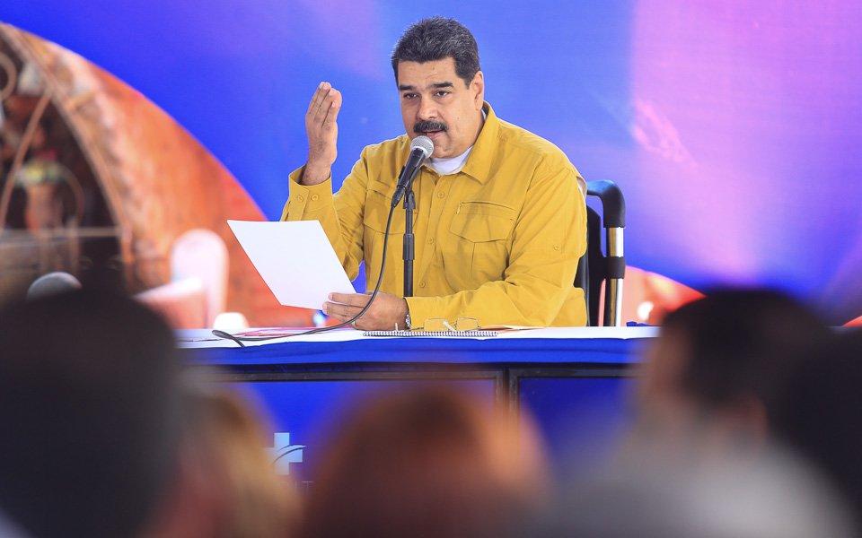 Nicolás Maduro se solidariza con el ex presidente brasileño Lula da Silva