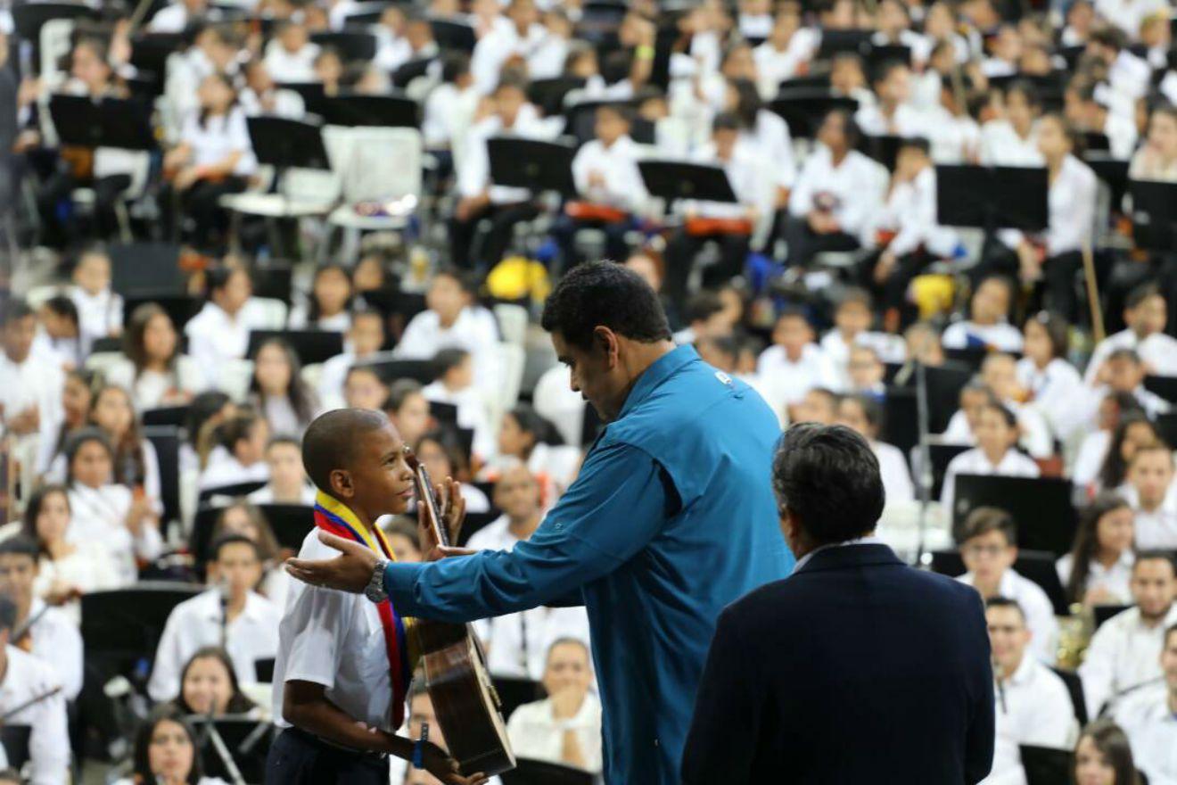 Venezuela: Sistema de Orquestas llega al integrante un millón