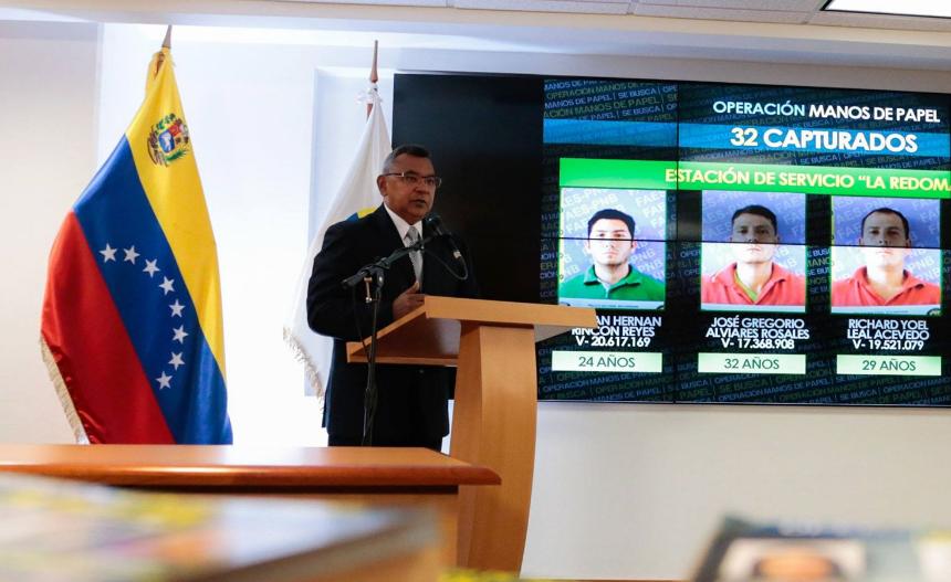 Intervienen 19 concesionarios en estado fronterizo de Venezuela con Colombia por contrabando de combustible