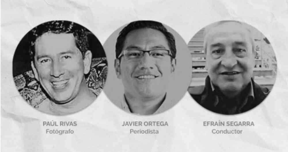"Ecuador ofrece 100 mil dólares por captura de ""Guacho"", responsable del asesinato de periodistas"