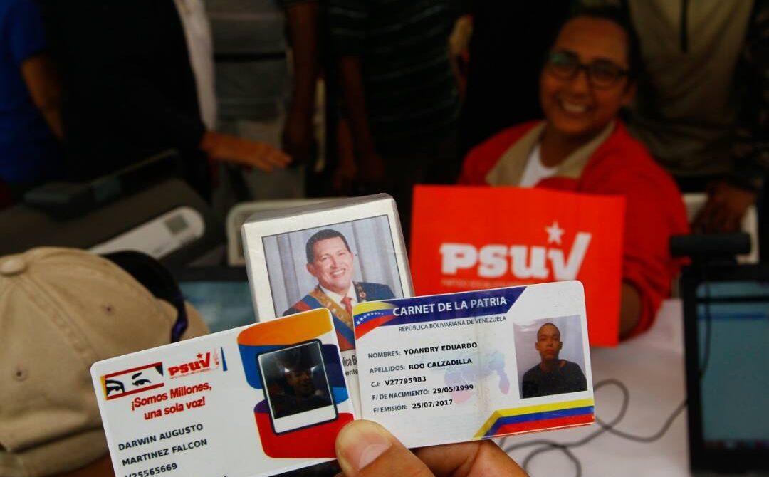 PSUV logró seis millones de carnetizados en todo el país