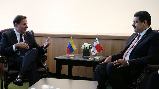 Presidente de Venezuela espera llamada del mandatario de Panamá
