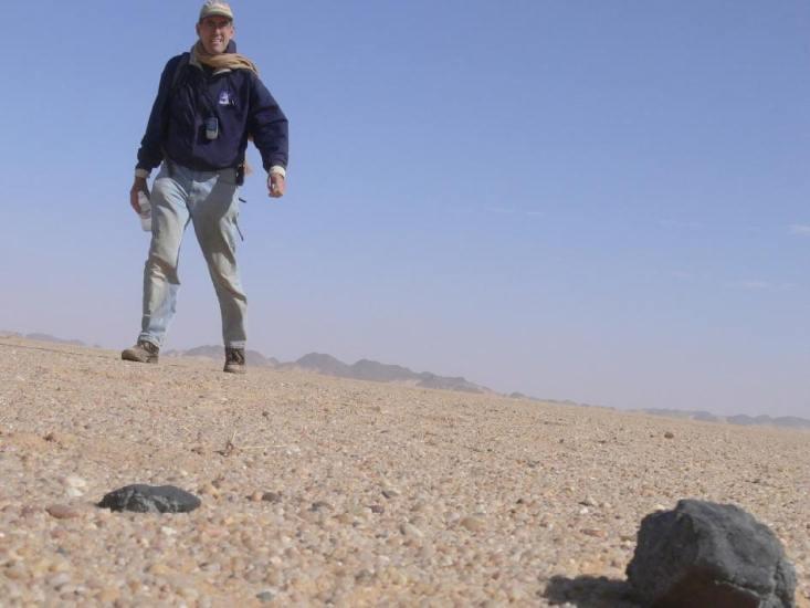 Los diamantes de un meteorito caído en Sudán son los restos de un primitivo planeta de nuestro Sistema Solar