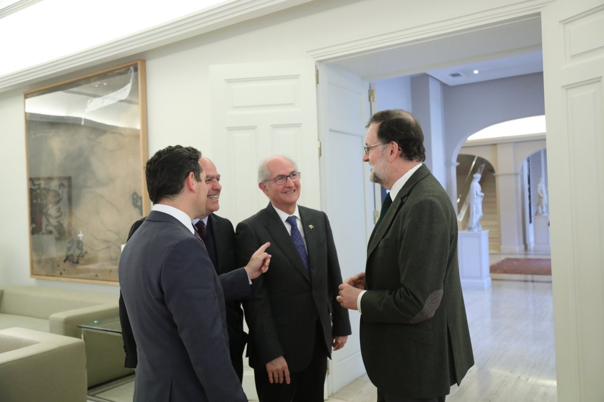Venezuela rechaza agresiones de Mariano Rajoy