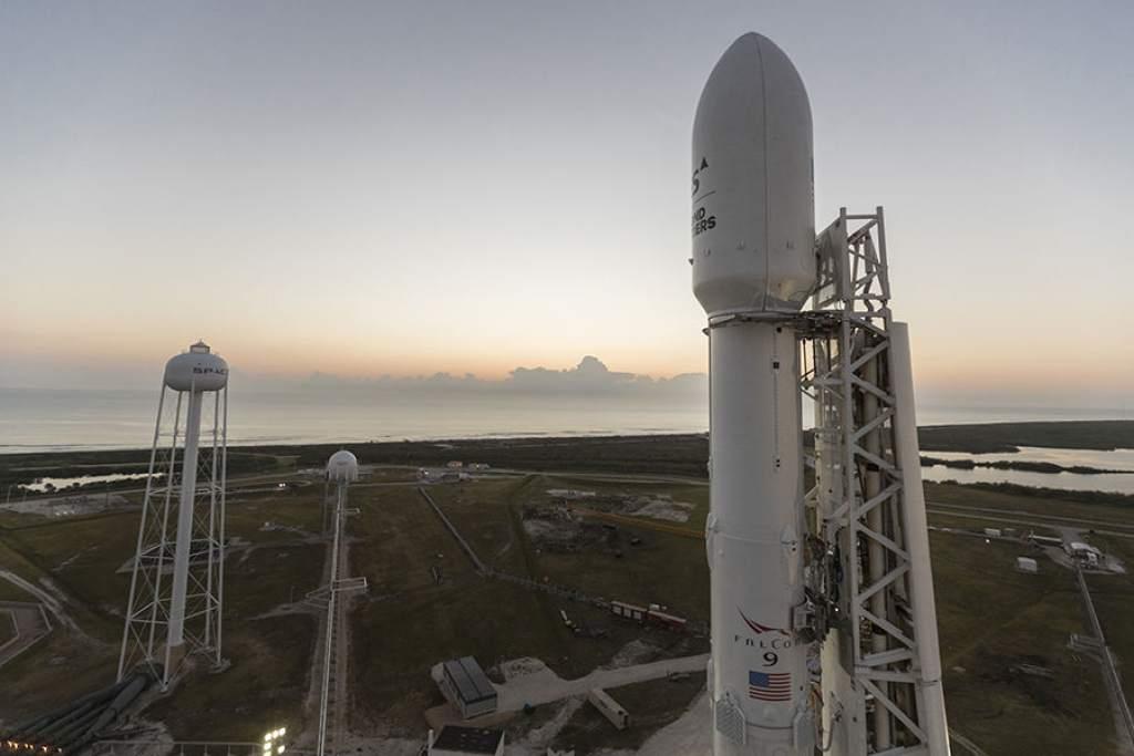 Satélite costarricense Falcon 9 se anotó en la carrera espacial