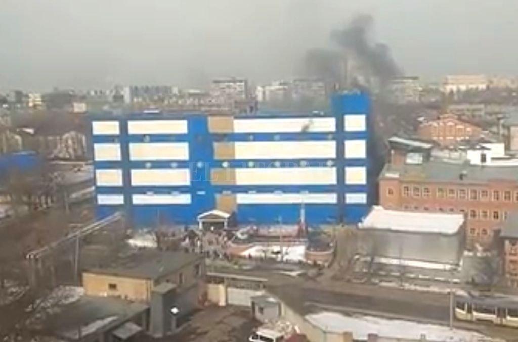 Nuevo incendio en centro comercial ruso dejó un muerto