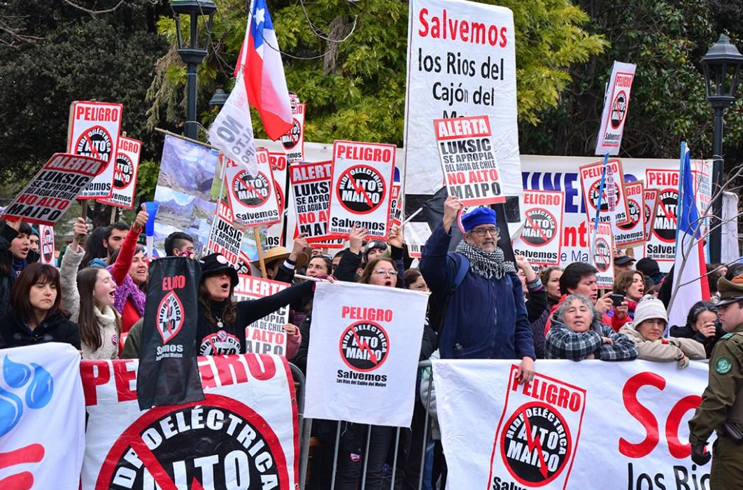 """Concejala de San José: El trabajo de Alto Maipo es """"una continua y permanente vulneración a la legislación vigente"""""""