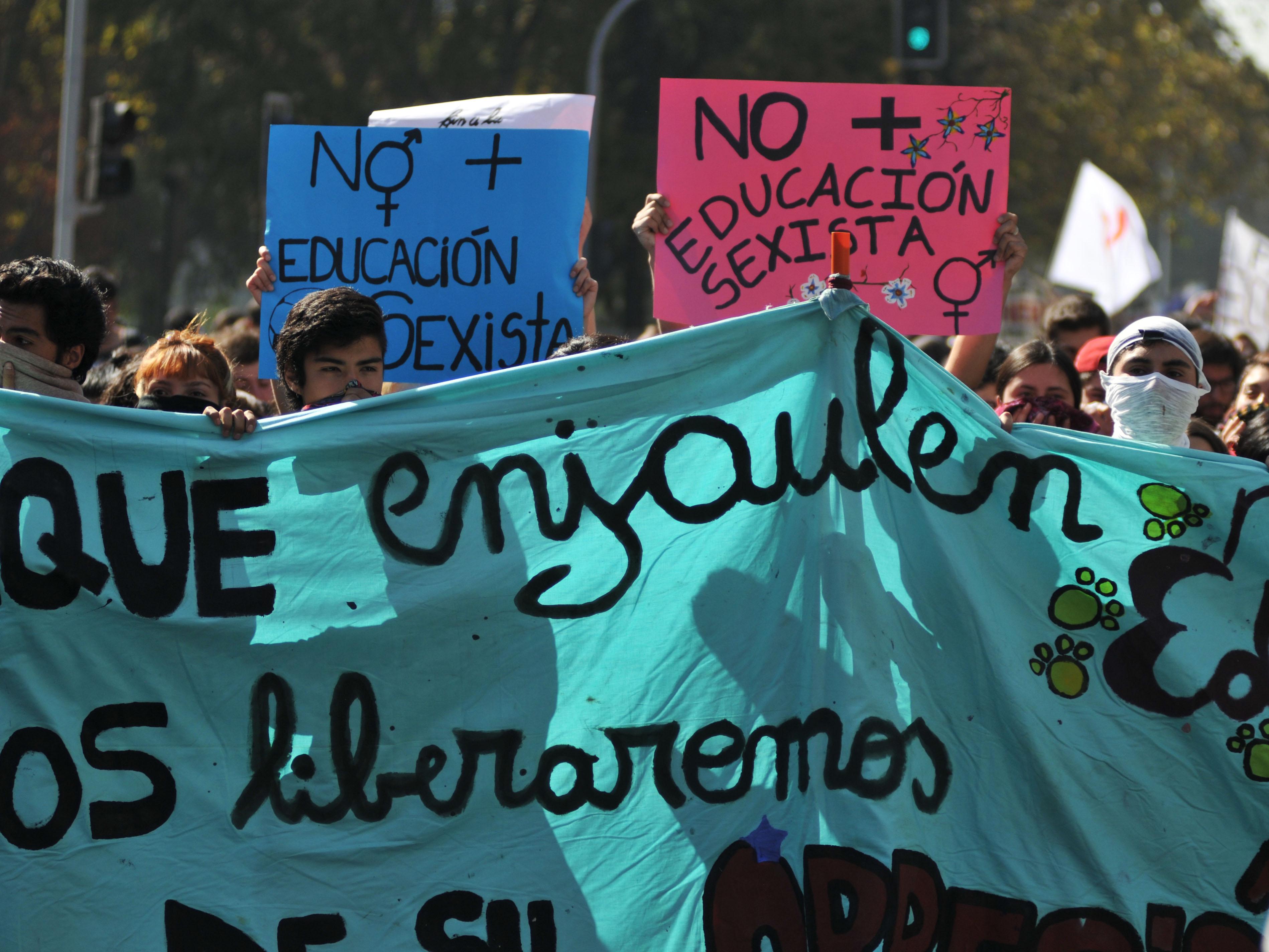 Postales Ciudadanas: Así transcurrió la primera masiva marcha estudiantil del año