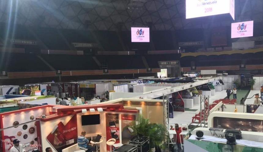 Destacan avances en el desarrollo productivo del país con la etiqueta la #ExpoVenezuelaPotencia