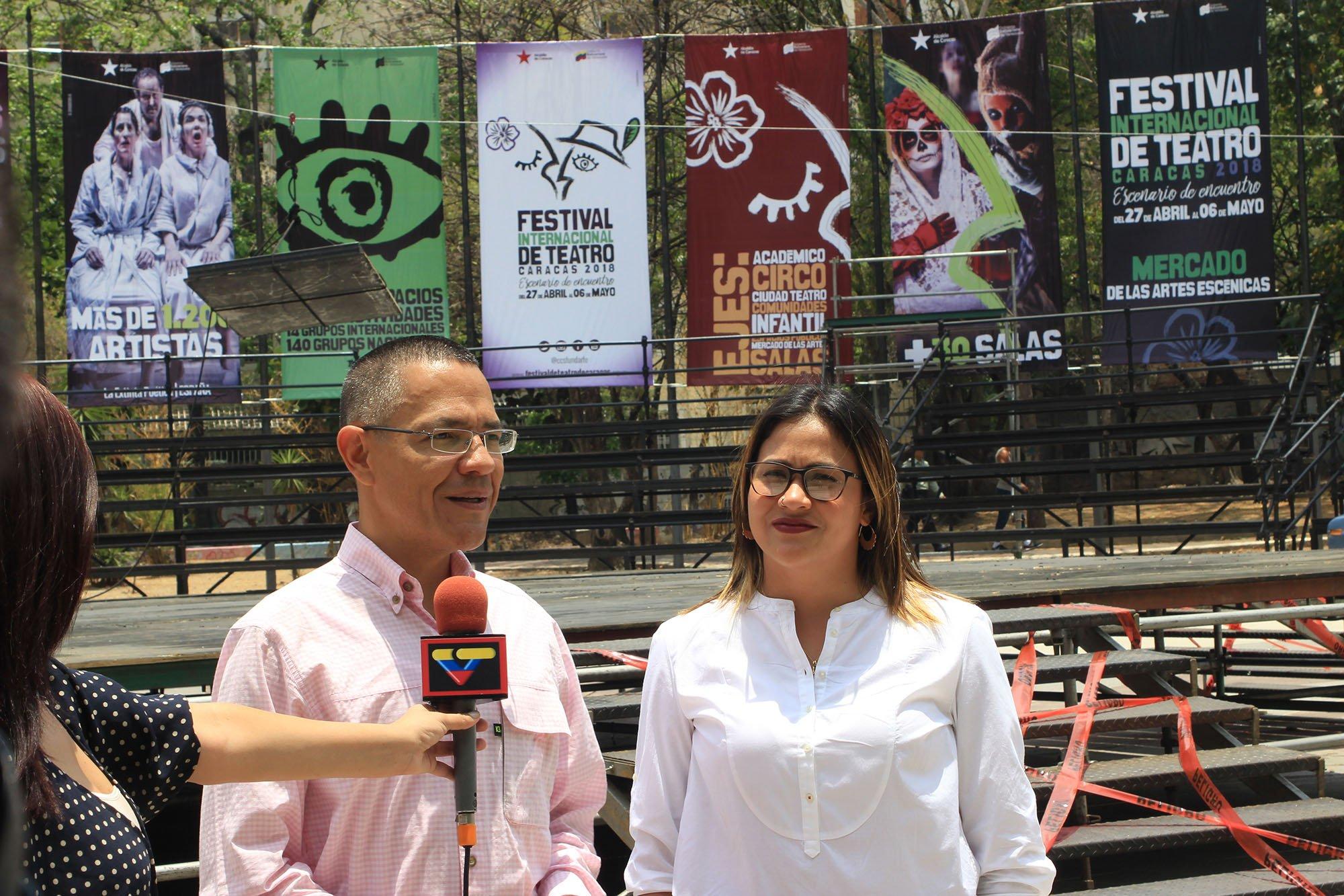 Todo listo para que se suba el telón del Festival Internacional de Teatro de Caracas