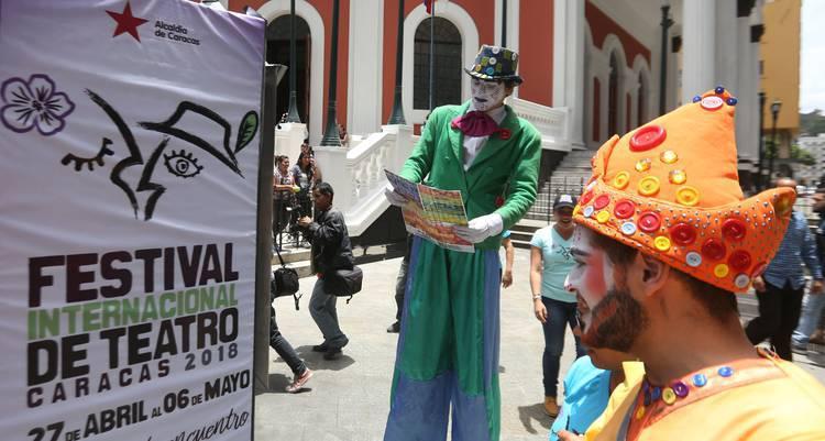 ¡Hoy comienza la fiesta teatral en Caracas!