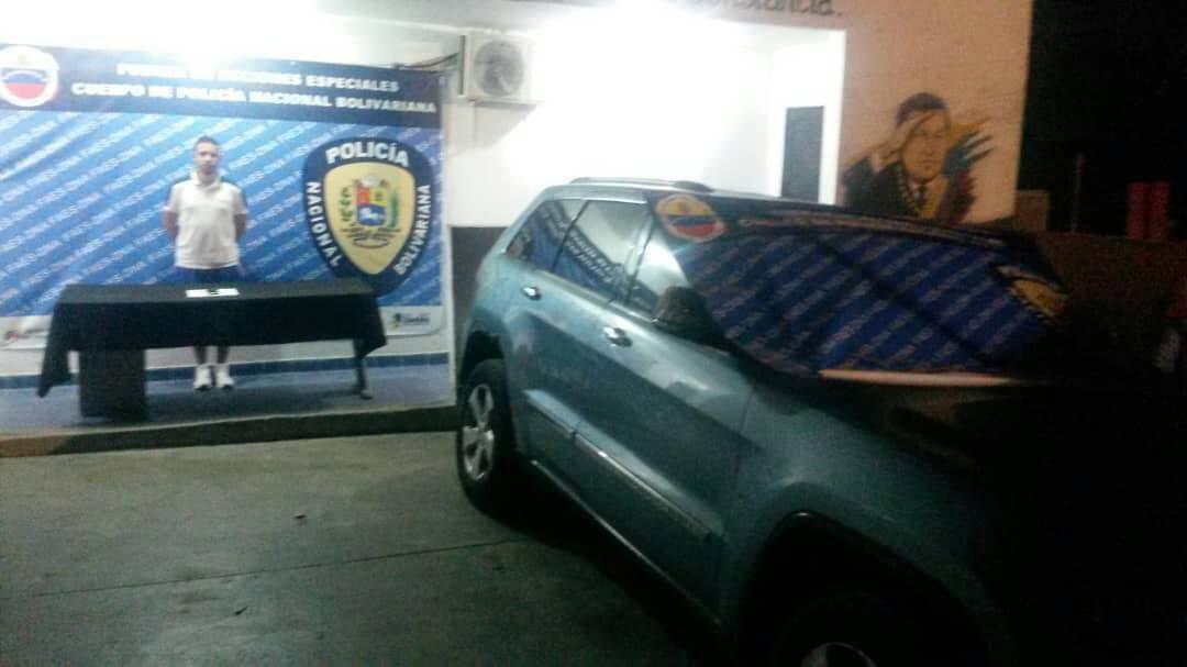 Capturan a traficante solicitado por la justicia venezolana y la Interpol