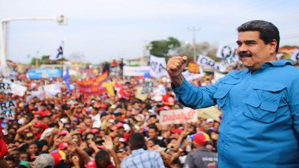 Maduro promete devolverle la prosperidad económica a Venezuela