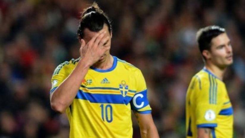 """No va a Rusia: DT de Suecia """"le baja el pulgar"""" a Zlatan Ibrahimovic para llegar al mundial"""