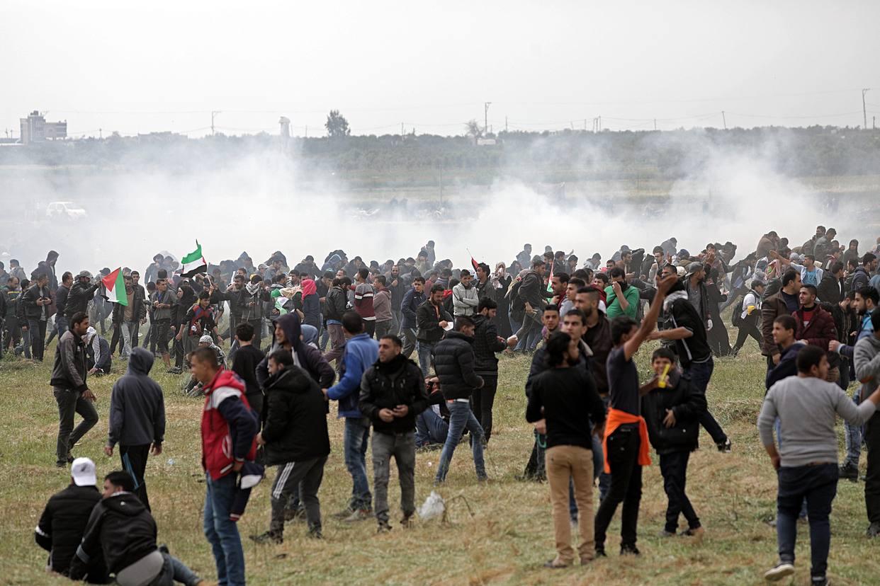 Van 17 palestinos asesinados en Gaza