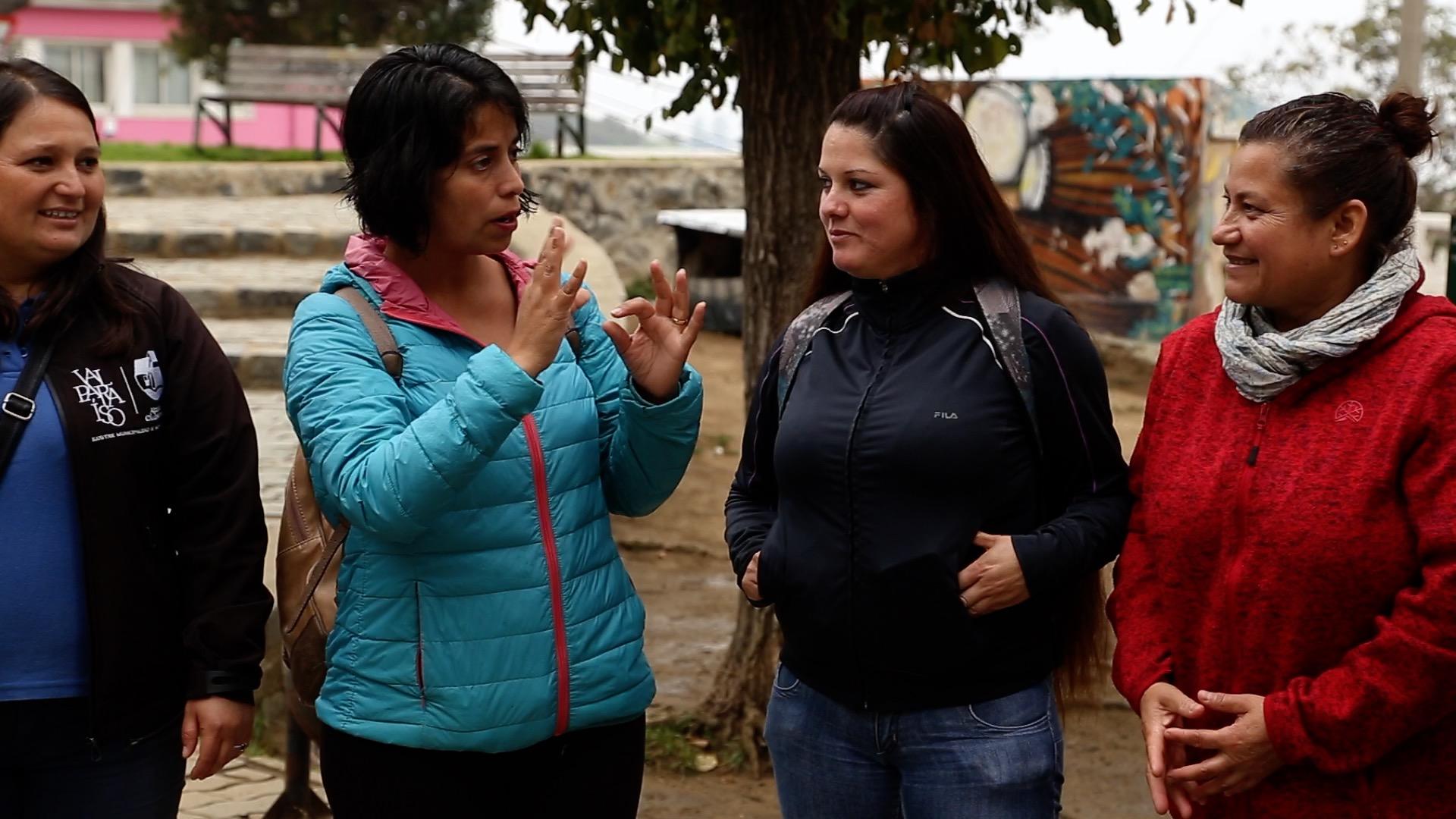 """Valparaíso: Debutaron los """"tours inclusivos"""" por el casco histórico de la ciudad"""