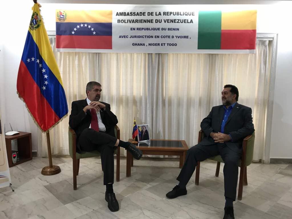 Venezuela afianza relaciones de cooperación con Sierra Leona