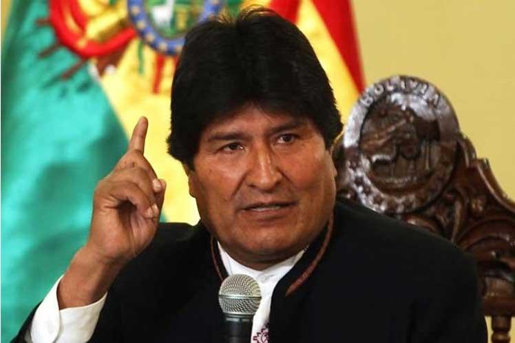 Evo Morales: «Nueva estrategia imperial adelanta la derecha de la región contra los pueblos»