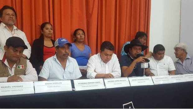 Comunidades indígenas se unen para elegir líderes bajo sus normas y costumbres