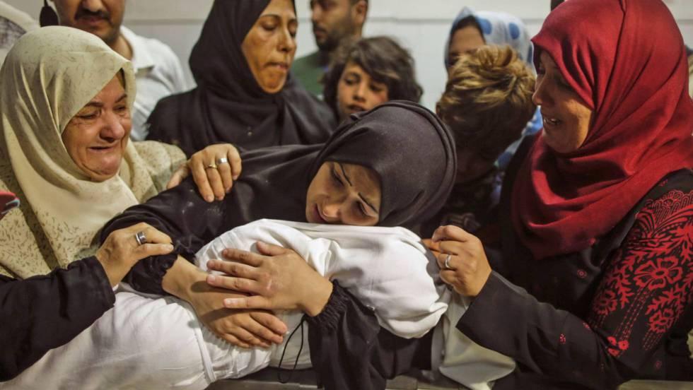 Palestina entierra a sus muertos y emprende una nueva jornada de protestas tras la matanza en Gaza