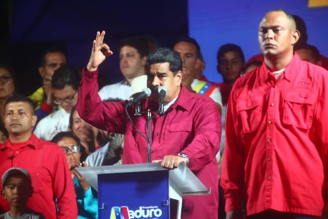 Nicolás Maduro tras ser reelecto: La Revolución Bolivariana se consagra en victoria permanente