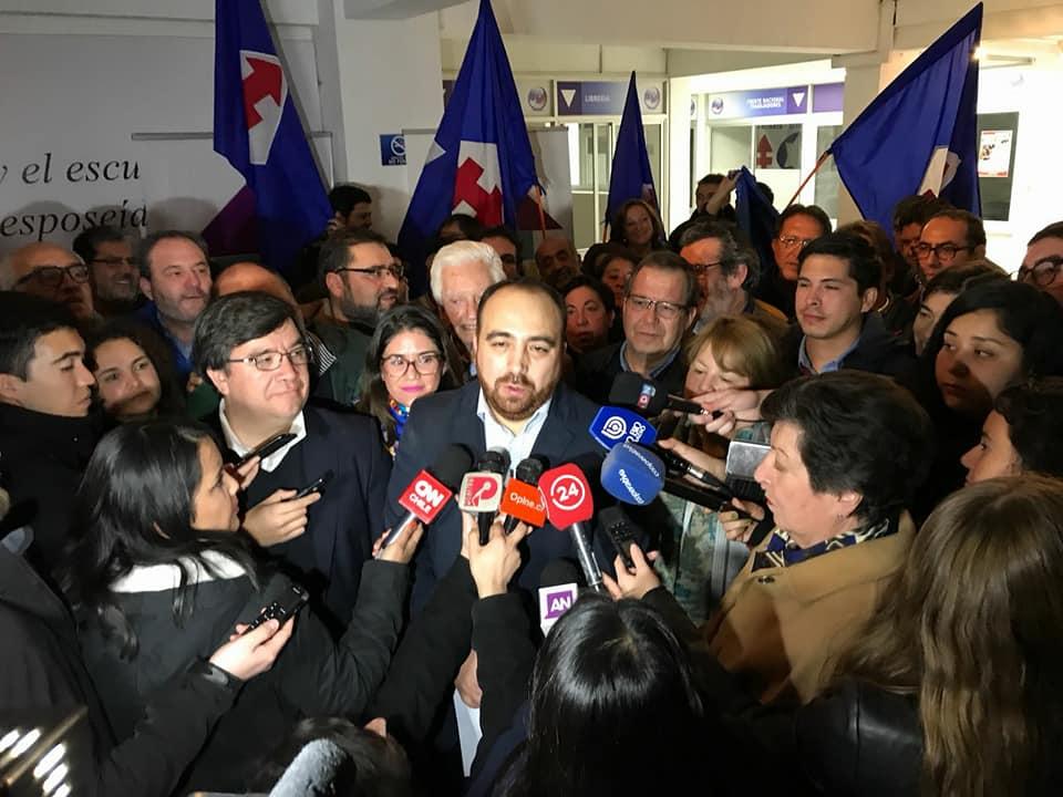 Fuad Chahín es el nuevo presidente de la DC