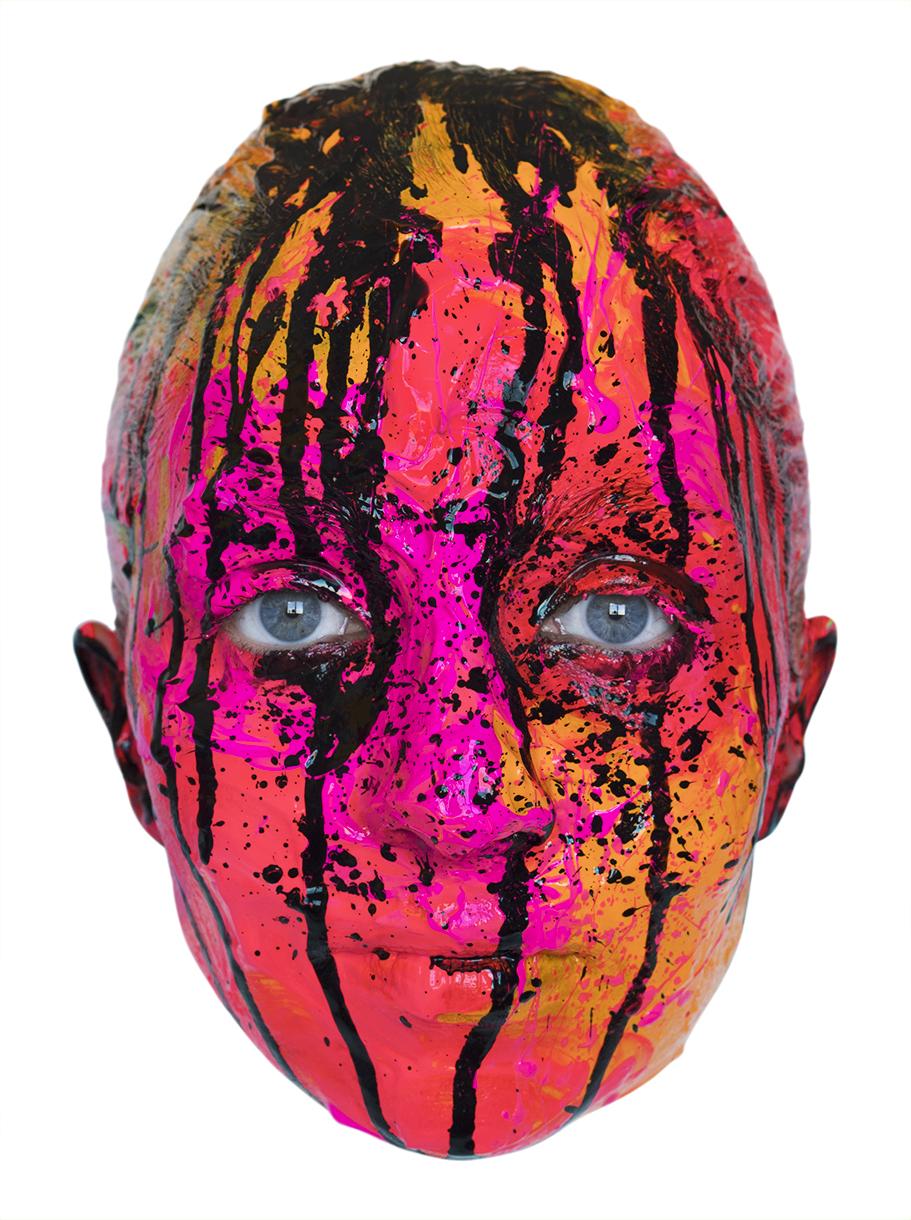 Colores estrepitosos en un soporte expresivo