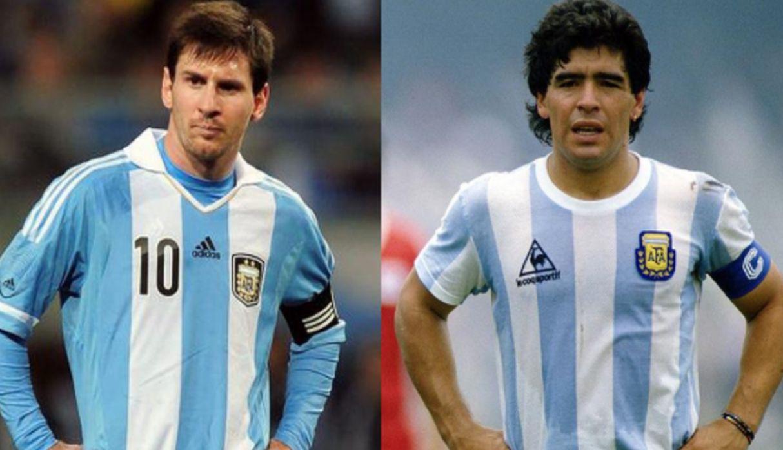 Maradona y la eterna comparación: «Todas las cosas que hace Messi las hice yo antes»
