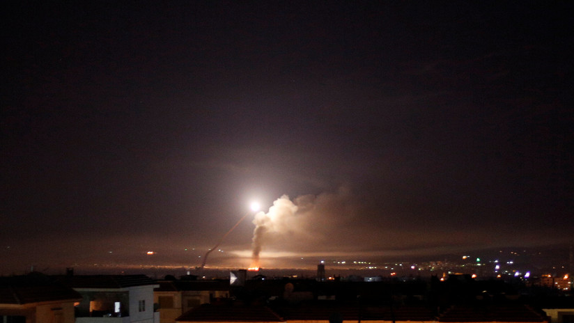 Israel lanza un ataque a gran escala en Siria