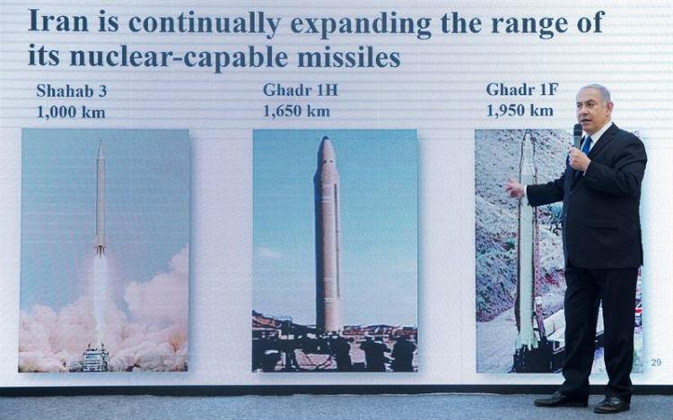 Irán califica como «ridícula» propaganda de Israel